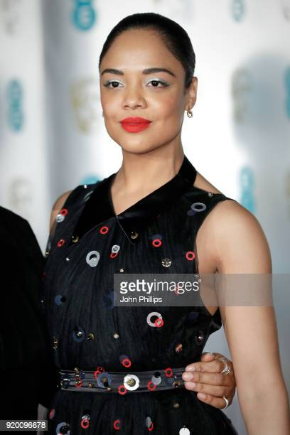 Tessa Thompson attends the EE British Academy Film Awards gala dinner held at Grosvenor House on February 18 2018 in London England