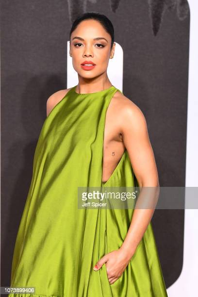 Tessa Thompson attends the European Premiere of Creed II at BFI IMAX on November 28 2018 in London England