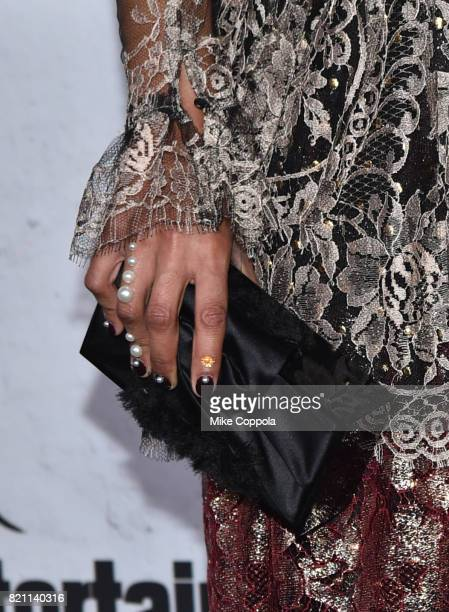 Tessa Thompson fashion detail at Entertainment Weekly's annual ComicCon party in celebration of ComicCon 2017 at Float at Hard Rock Hotel San Diego...