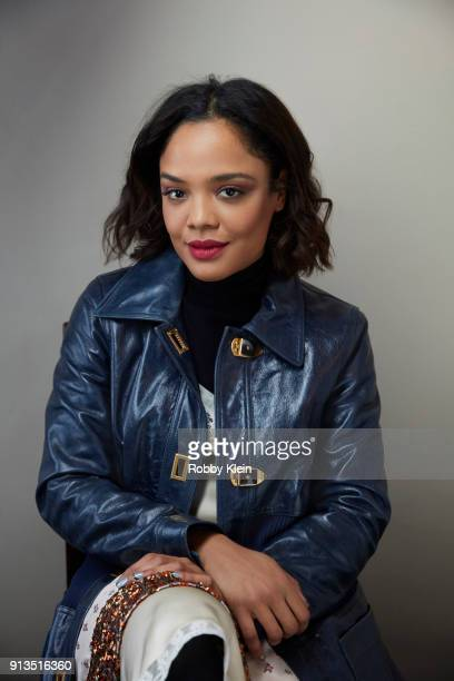 Tessa Thompson from the film 'Sorry To Bother You' poses for a portrait in the YouTube x Getty Images Portrait Studio at 2018 Sundance Film Festival...