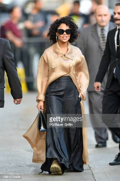 Tessa Thompson is seen on November 13 2018 in Los Angeles California