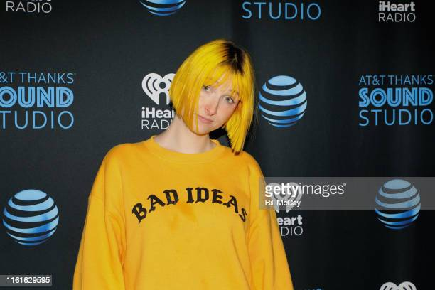 Tessa Violet poses at the Radio 1045 Performance Theater August 14 2019 in Bala Cynwyd Pennsylvania