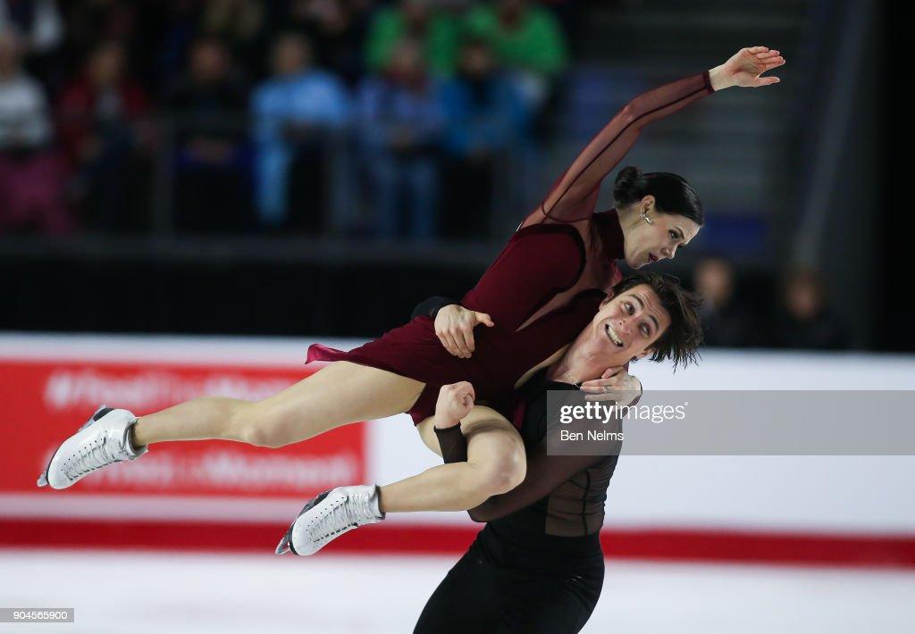 2018 Canadian Tire National Skating Championships : News Photo