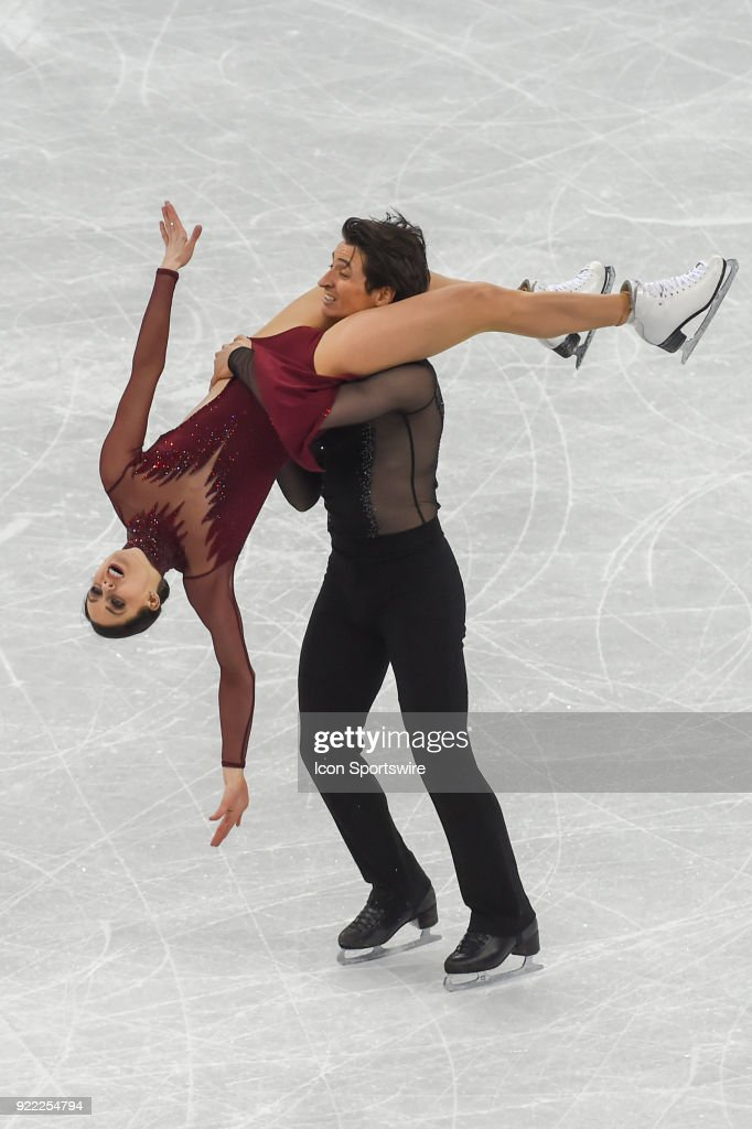 Tessa Virtue and Scott Moir (CAN) win the gold medal in Ice Dancing during the 2018 Winter Olympic Games at the Gangneung Ice Arena on February 20, 2018 in PyeongChang, South Korea.
