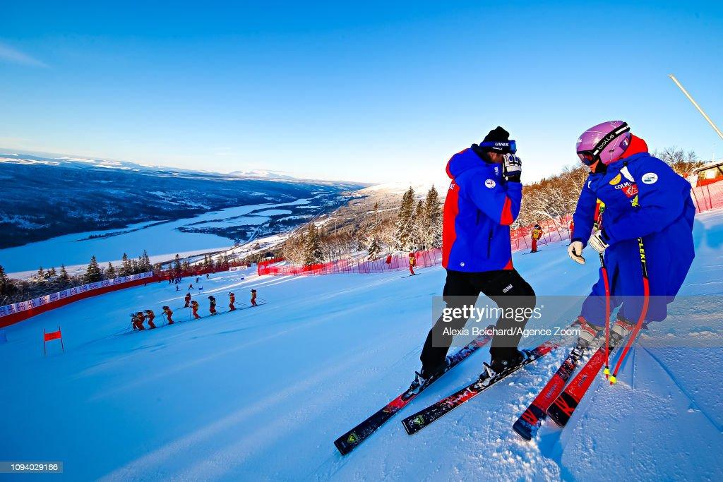 SWE: FIS World Ski Championships - Women's Super G