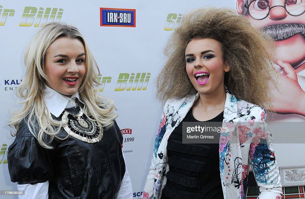Tessie Hartmann and Tallia Storm attend the 'Sir Billi' press screening at The Grosvenor Cinema on September 5, 2013 in Glasgow, Scotland.