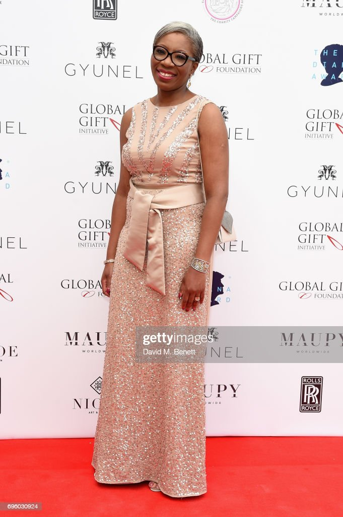 Tessy Ojo attends the Global Gift Gala for The Diana Award, hosted by Earl Spencer at Althorp House on June 14, 2017 in Northampton, England.