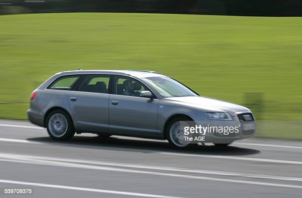 Test drive car Audi A6 22 August 2005 THE AGE DRIVE Picture by EDDIE JIM