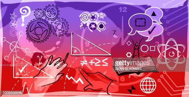 IQ test illustration