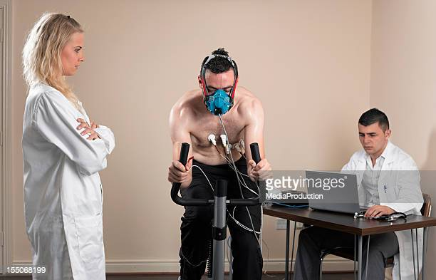 vo2 test - stress test stock pictures, royalty-free photos & images