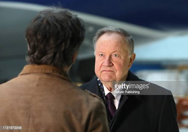 Test pilot of the Antonov Aeronautical Scientific/Technical Complex aviation adviser of the Designer General Hero of Ukraine Oleksandr Halunenko...
