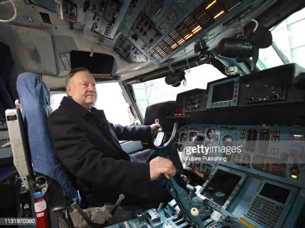 Test pilot of the Antonov Aeronautical Scientific/Technical Complex aviation adviser of the Designer General Hero of Ukraine Oleksandr Halunenko is...