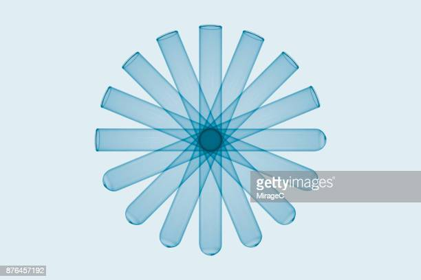 test tube flower pattern - concepts & topics stock photos and pictures