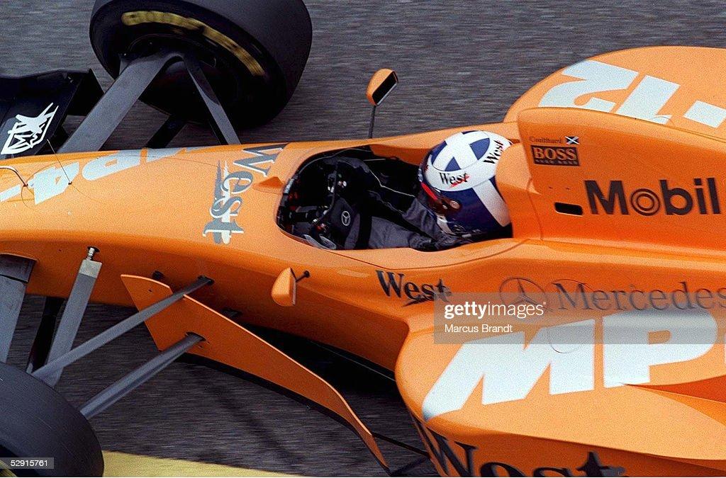 FORMEL 1/MOTORSPORT: Testfahrten in Jerez, 18.01.97 : News Photo