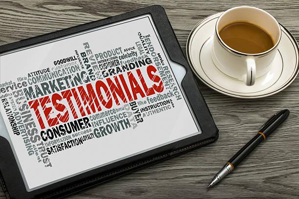 testimonial essays