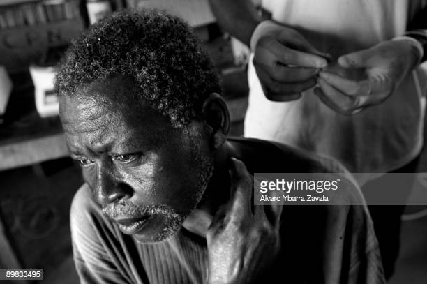 Testing and prevention against the sleeping sickness human African trypanosomiasis a parasitic disease caused by a protozoa and transmitted by the...