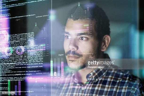 Testing his code
