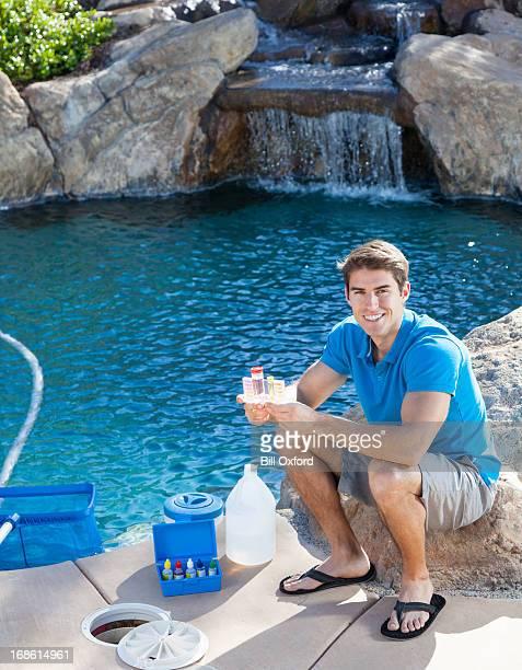 Testes Pool de água