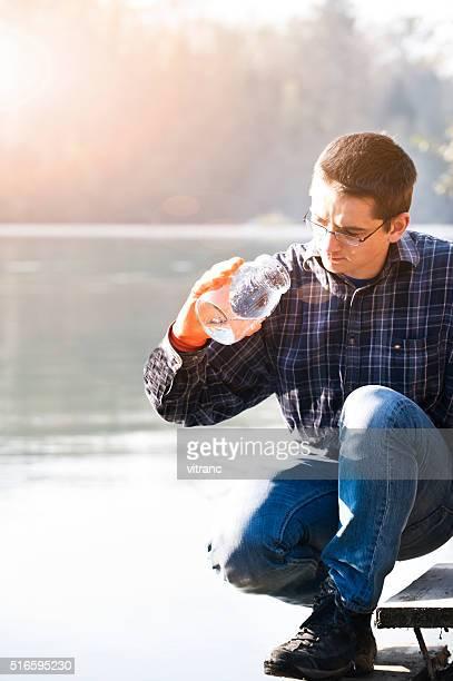 Prueba de la calidad del agua