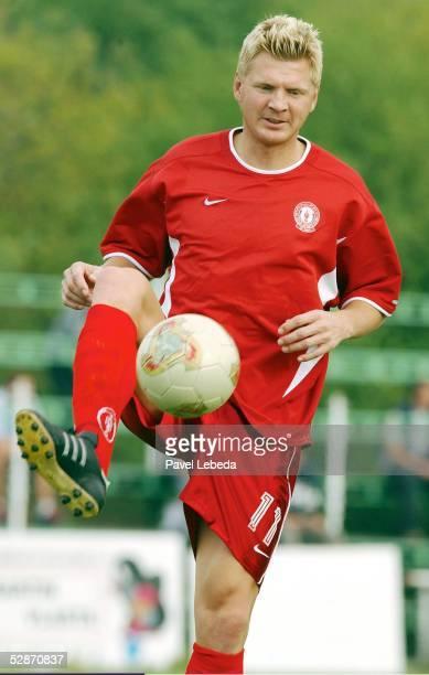 Testspiel 2003 in Prag; FC Libus - Al Arabi Club ; Stefan EFFENBERG/Al Arabi