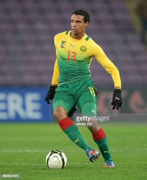 FUSSBALL INTERNATIONAL Testspiel Albanien Kamerun Joel Matip am Ball