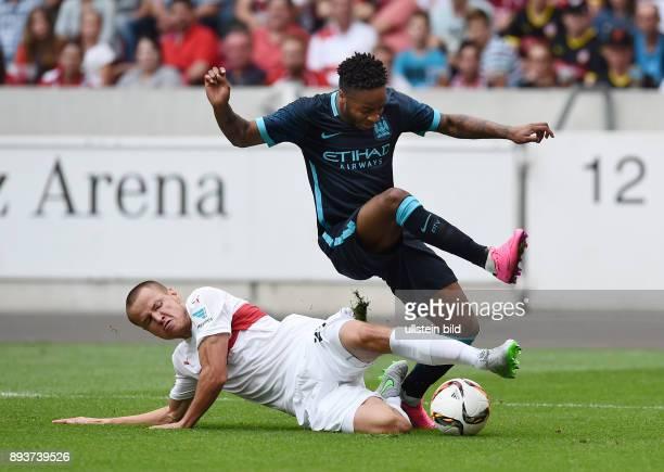 FUSSBALL 1 BUNDESLIGA SAISON 2015/2016 Testspiel VfB Stuttgart Manchester City Adam Hlousek gegen Raheem Sterling