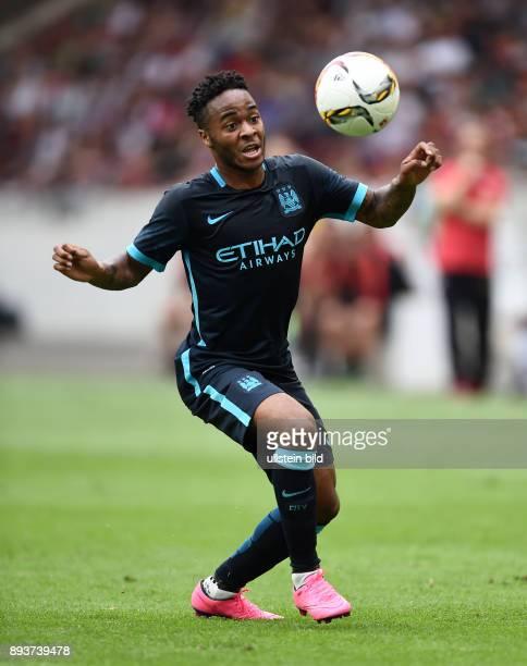 FUSSBALL 1 BUNDESLIGA SAISON 2015/2016 Testspiel VfB Stuttgart Manchester City Raheem Sterling am Ball