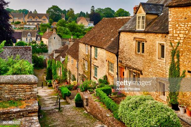 tetbury village, cotswold, england - tetbury stock pictures, royalty-free photos & images