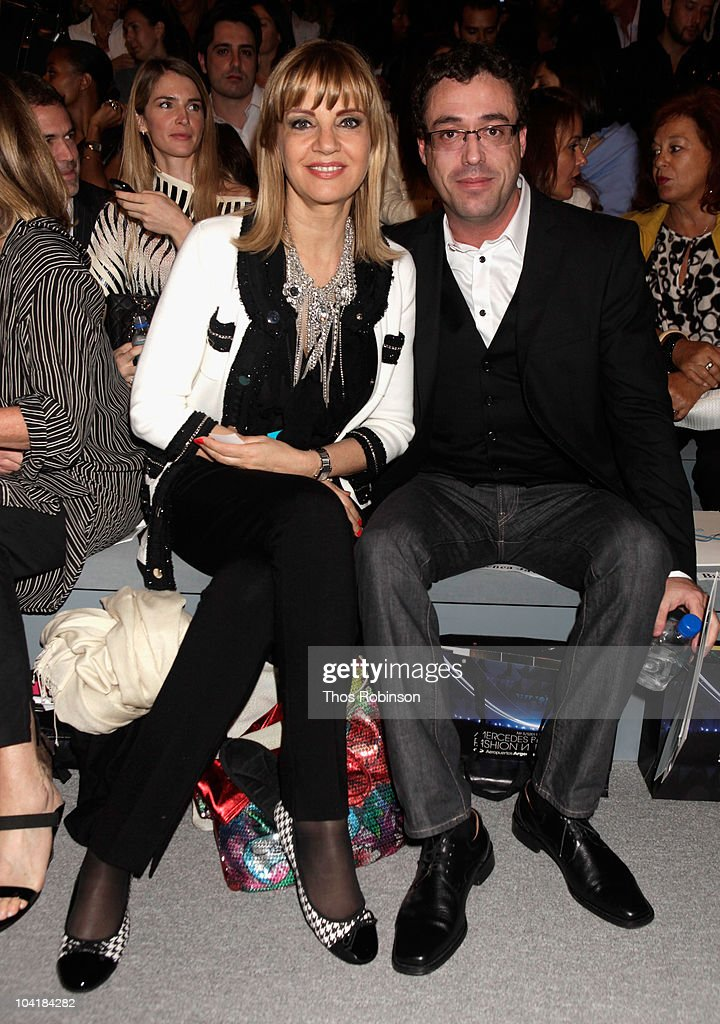 Tete Coustarot and Javier Goicoechea attend the Argentina Group Show Spring 2011 fashion show during Mercedes-Benz Fashion Week at The Stage at Lincoln Center on September 16, 2010 in New York City.