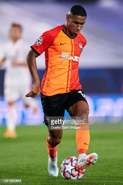 Tete of Shakhtar Donetsk in action during the UEFA Champions League Group B stage match between Real Madrid and Shakhtar Donetsk at Estadio Alfredo...