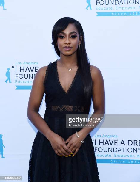Tetona Jackson arrives at the 6th Annual I Have A Dream Foundation Los Angeles Dreamer Dinner Benefit at the Skirball Cultural Center on March 31...