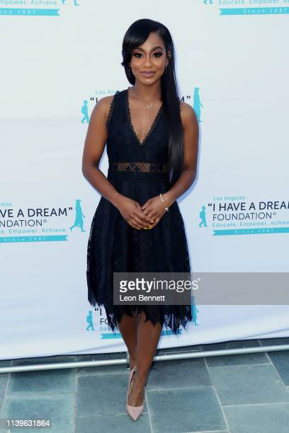 Tetona Jackson attends I Have A Dream Foundation Los Angeles Hosts 6th Annual Dreamer Dinner Benefit at Skirball Cultural Center on March 31 2019 in...