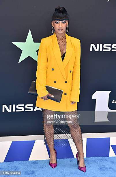 Tetona Jackson attends the 2019 BET Awards at Microsoft Theater on June 23 2019 in Los Angeles California
