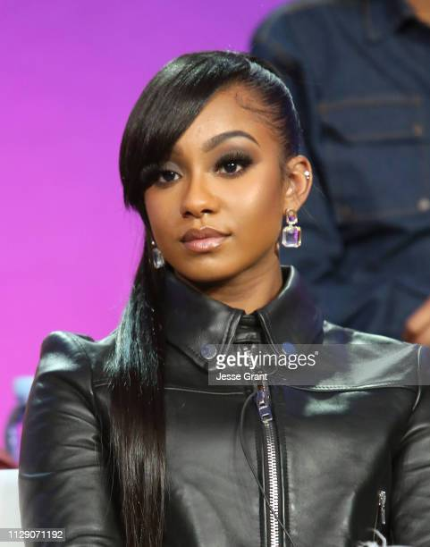 Tetona Jackson attends the Viacom Winter TCA 2019 panel on February 11 2019 in Pasadena California