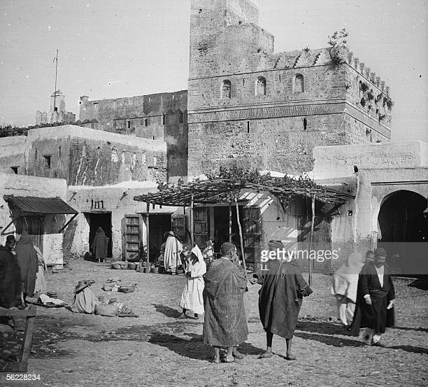 Tetouan Ancient fortress and marketplace by 1885