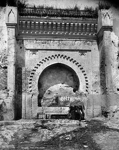 Tetouan Arabian fountain About 1885 LL178A