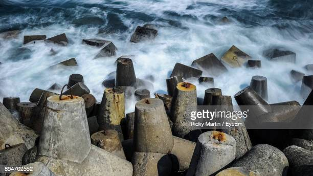 Tetrapods By Sea