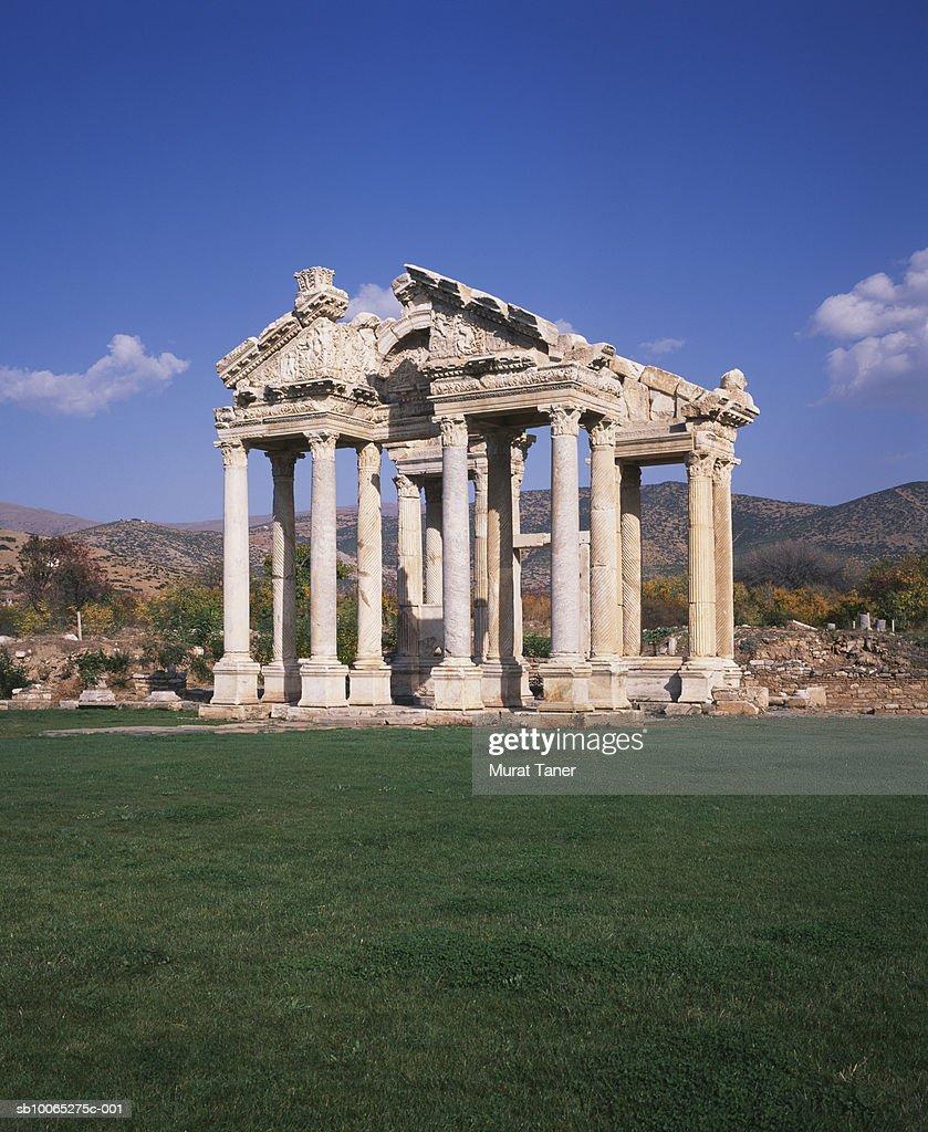 Tetrapylon, entrance gate : Foto stock