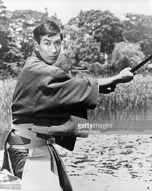 Tetsuro Tamba as Tiger Tanaka Chief of the Japanese Secret Service in a scene from the film 'You Only Live Twice' 1967