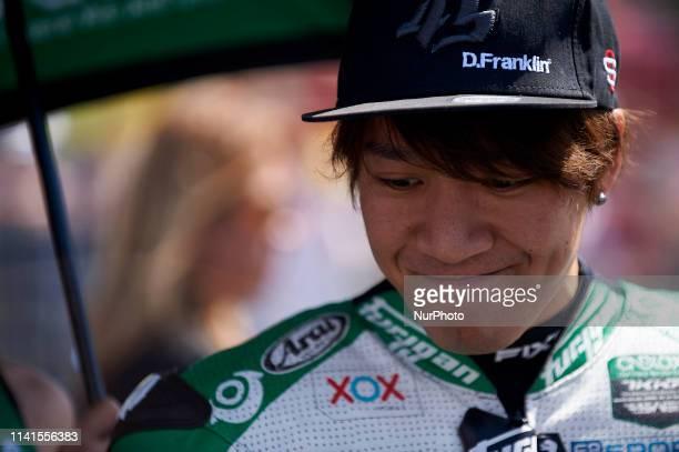Tetsuta Nagashima of Japan and ONEXOX TKKR SAG Team during the Red Bull GP of Spain at Circuito de Jerez Angel Nieto on May 5, 2019 in Jerez de la...