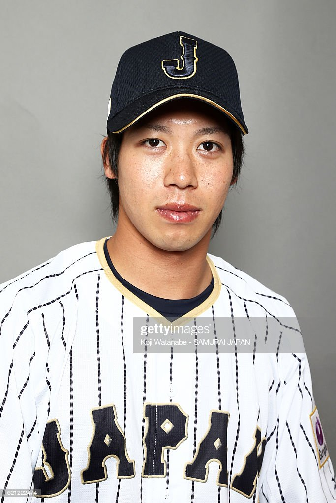 Japan National Baseball Team Portrait Session