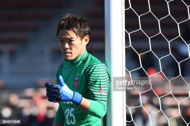 Tetsuya Enomoto of Urawa Red Diamonds in action during the preseason friendly between Urawa Red Diamonds and FC Seoul at Urawa Komaba Stadium on...