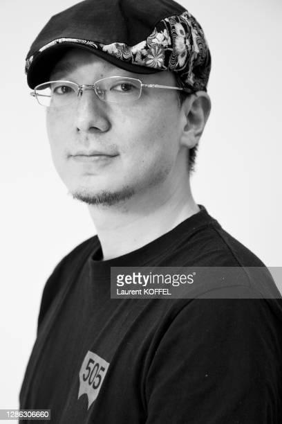 Tetsuya Nishio session portrait in Paris in France on July 4, 2009.