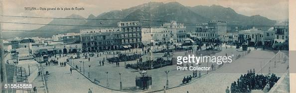 Tetuan Vista General De La Plaza De Espana Circa 1910 Tetuan News Photo Getty Images