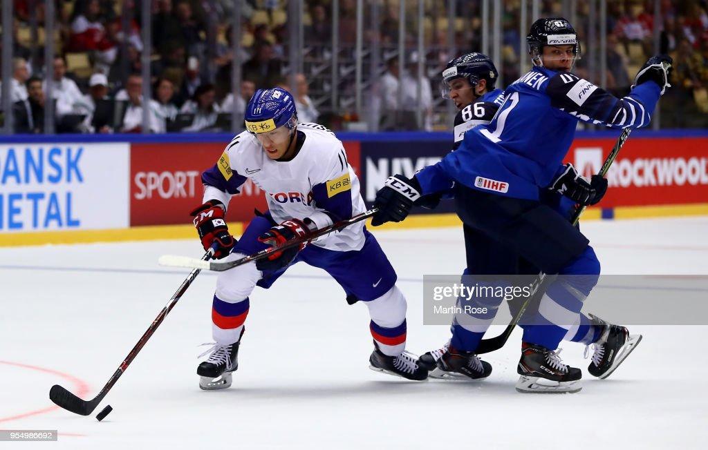 Finland v Korea - 2018 IIHF Ice Hockey World Championship