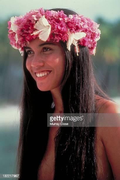 Tevaite Vernette as Mauatua in the film 'The Bounty' 1984