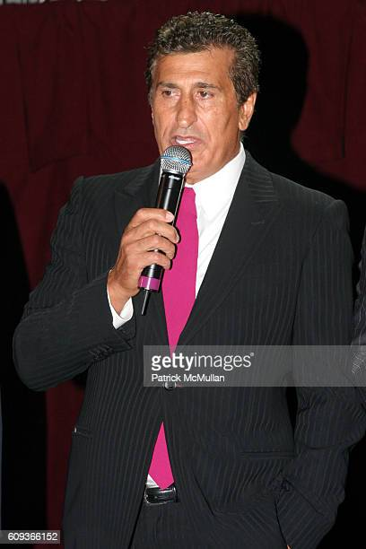 Tevfik Arif attends Trump Soho Hotel Condominium Launch Party at Tribeca Rooftop on September 19 2007 in New York City