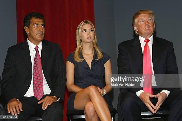 Tevfik Arif Ivanka Trump and Donald Trump at the Trump Soho Launch on September 19 2007 in New York City