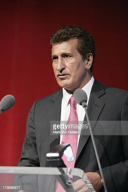 Tevfik Arif speaks at the Trump Soho Launch on September 19 2007 in New York City