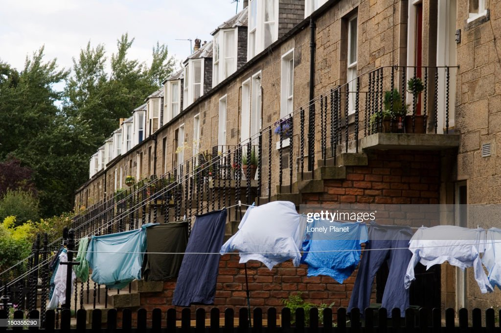 Teviotdale Place in Stockbridge Colonies off Glenogle Road, New Town. : Stock Photo